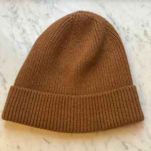 J. Crew Tan Knitted Hat